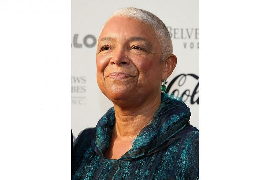 Camille Cosby, wife of US comedian Bill Cosby. -- PHOTO: AFP