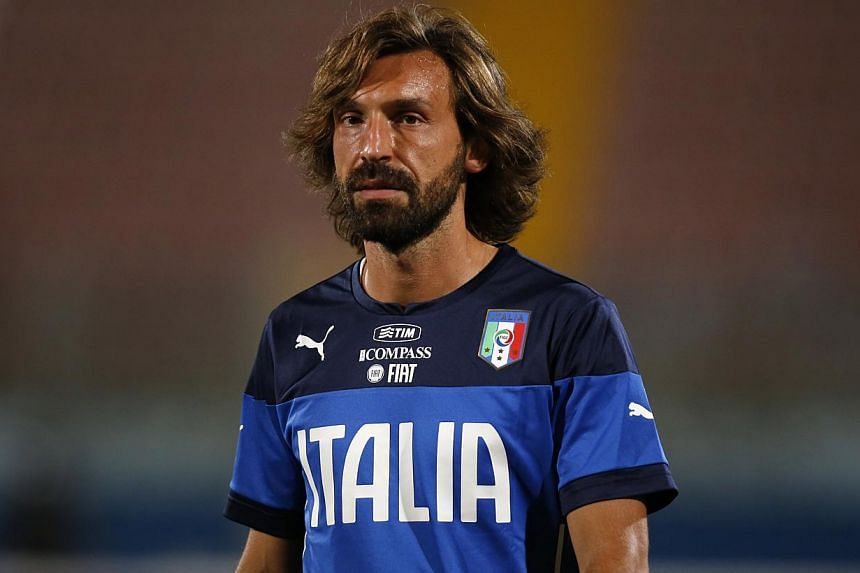 Juventus midfielder Andrea Pirlo claimed Serie A's player of the year award for the third consecutive year during a gala event on Monday organised by the Association of Italian Footballers. -- PHOTO: REUTERS