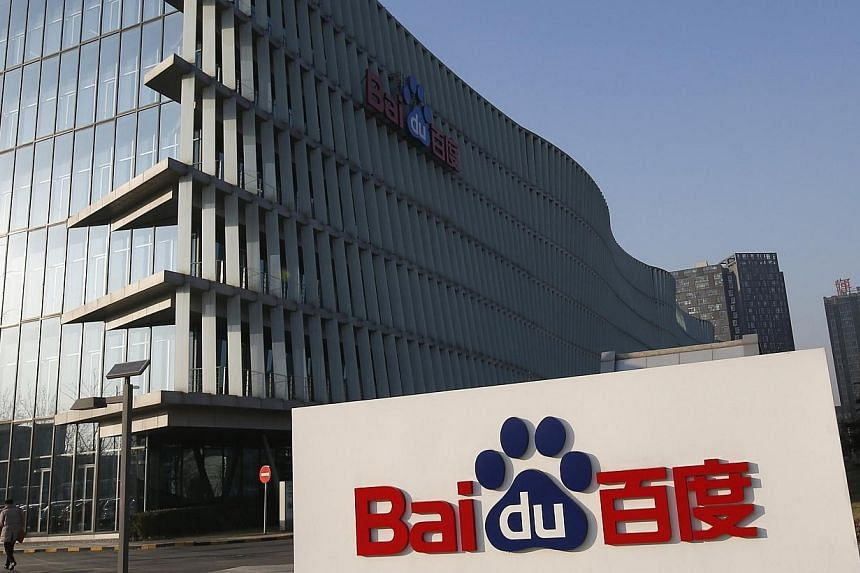 Chinese search engine Baidu, the country's equivalent of Google, announced on Wednesday it has bought a stake in Uber for an undisclosed sum, as the controversial US web-based taxi app seeks to expand into an already crowded market. -- PHOTO: REUTERS