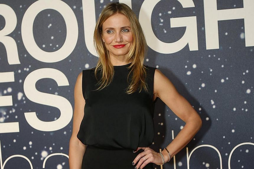 Cameron Diaz (above), agreeing with Foxx's view that everyone has an equal shot at success. -- PHOTO: REUTERS