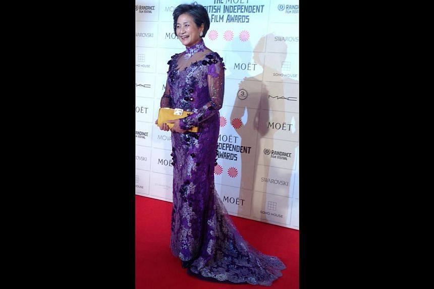 Actress Cheng Pei Pei, whose recent works include indie drama Lilting, Cambodian-British writer-director Hong Khaou's debut feature, for which she was nominated for Best Actress at the British Independent Film Awards (above). -- PHOTO: ECHELON TALENT