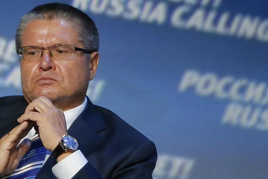 The Russian government is not considering strict capital control measures that could limit purchases of foreign currency, economy minister Alexei Ulyukayev (above) said after an emergency meeting over the rapidly sliding rouble. -- PHOTO: REUTERS