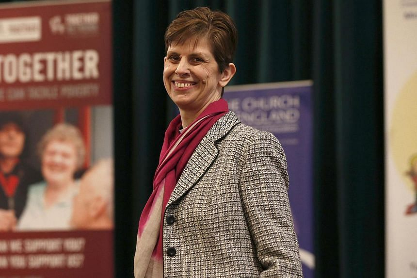 Libby Lane has been named as the next bishop of Stockport, in north-west England, after England's state church last month gave final approval to the dramatic change to its hierarchy following years of wrangling and division. -- PHOTO: REUTERS