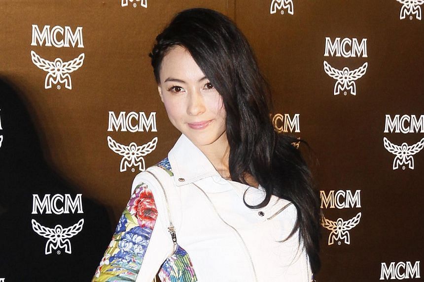 Hong Kong actress Cecilia Cheung is singing the praises of Singapore, a year into her stay in the republic. -- PHOTO:APPLE DAILY