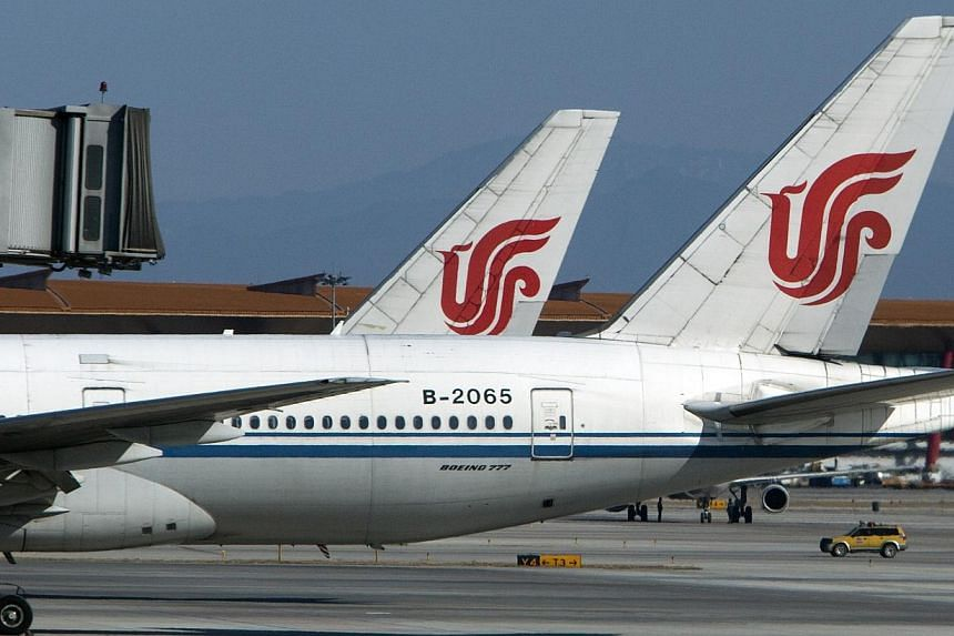 A flight from Chongqing to Hong Kong was almost forced to turn back on Wednesday when a violent fracas involving four women from China's mainland erupted in the cabin, reported Hong Kong's media. -- PHOTO: BLOOMBERG