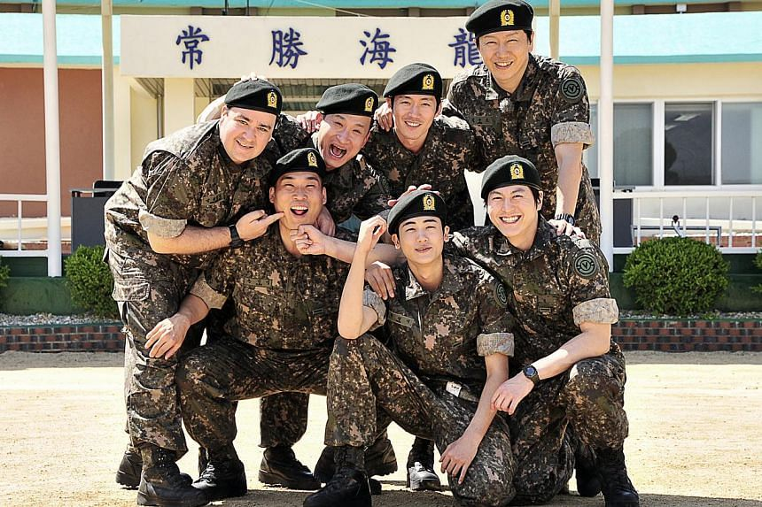 The Real Men.--PHOTO: OH!K