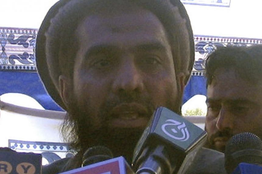 Zaki-ur-Rehman Lakhvi speaks during a rally in this April 21, 2008 file photo.India said Thursday that a Pakistan court's decision to grant bail to the alleged mastermind of 2008 terror attacks in Mumbai was unacceptable and demanded immediate