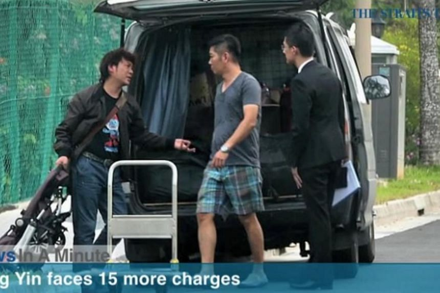 In today's News In A Minute, we look at former China tour guide Yang Yin being slapped with another 15 charges for cheating and commercial breach of trust, facing a total of 349 charges.-- PHOTO: SCREENGRAB FROM RAZORTV