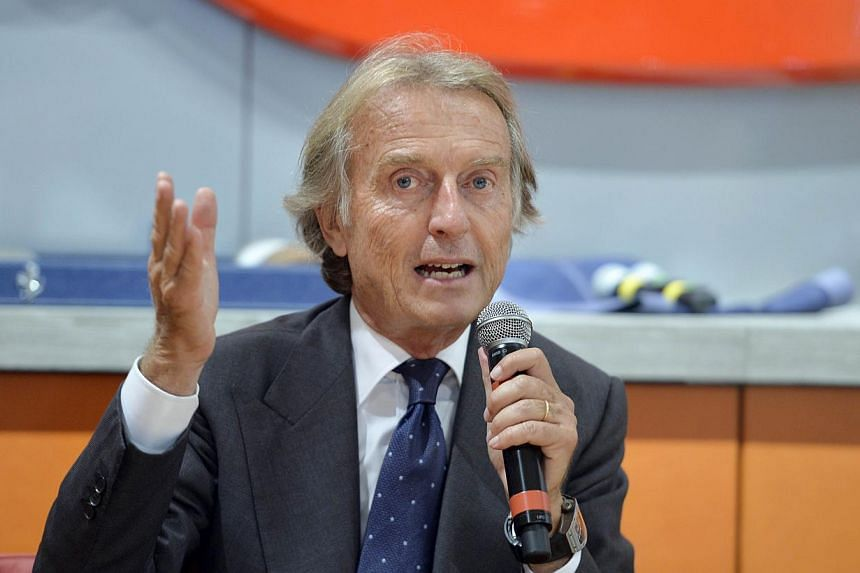 Former Ferrari chairman Luca Di Montezemolo (above) is returning to the board of Formula One as a non-executive director along with former Diageo chief executive Paul Walsh, controlling shareholders CVC said on Thursday. -- PHOTO: AFP