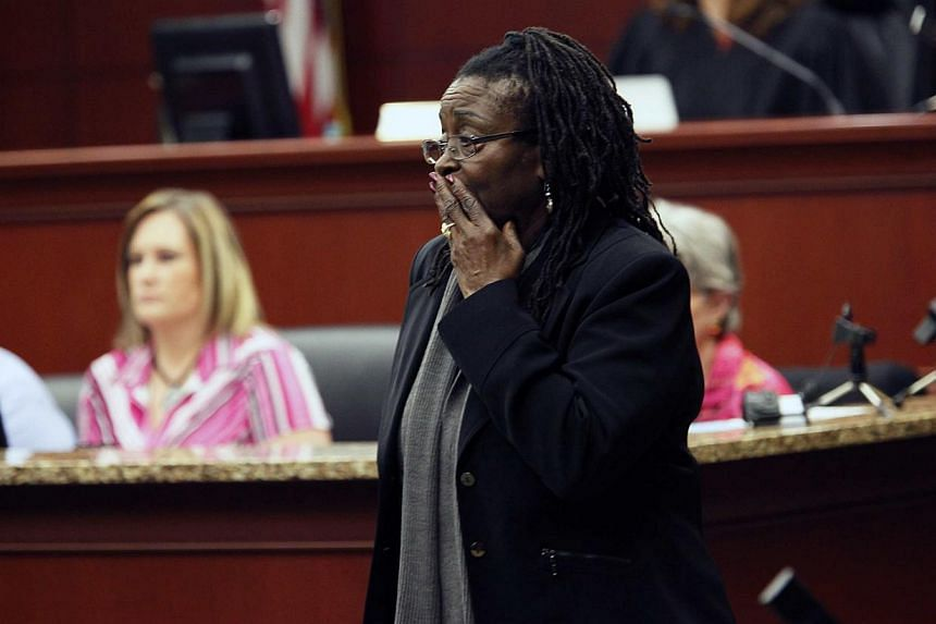 Defence witness Katherine Stinney-Robinson leaves the stand after her testimony at the hearing to reopen the case for her brother George Stinney Jr in Sumter, South Carolina in this file photo taken Jan 21, 2014. -- PHOTO: REUTERS