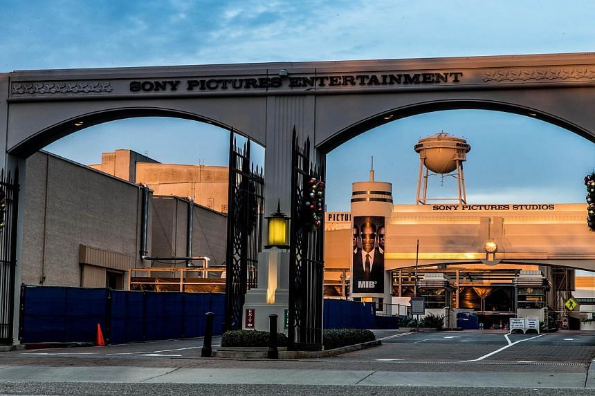 The Sony Pictures headquarters in Culver City, California. -- PHOTO: AFP