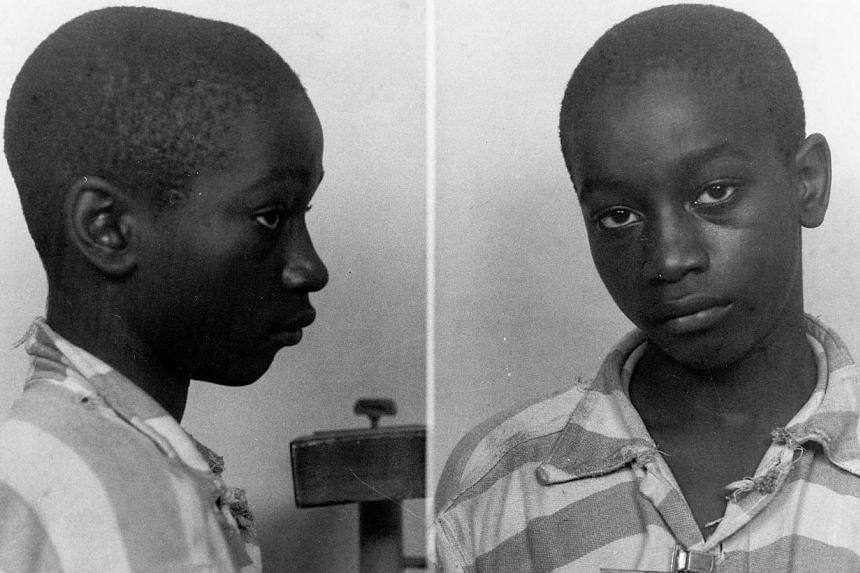 A judge in the southern US state of South Carolina has thrown out the conviction of black teenager George Stinney (above), executed 70 years ago for the murder of two white girls. -- PHOTO: REUTERS