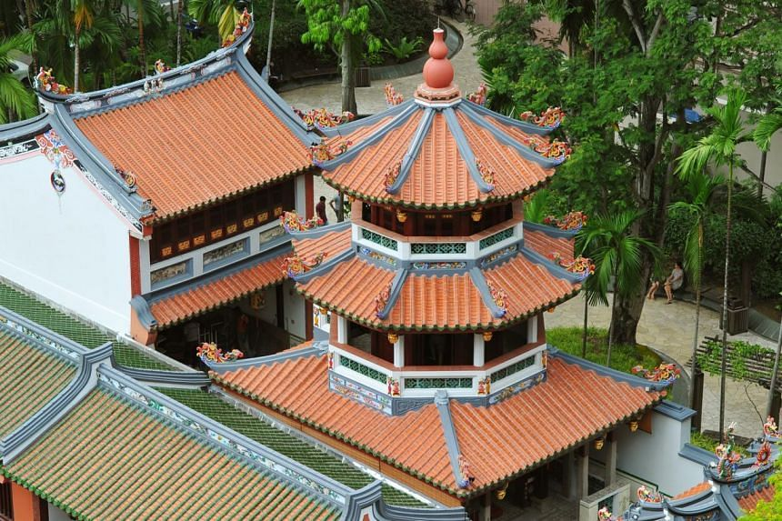 Visitors will be greeted by a pair of dragons at the entrance and a newly replaced imperial treasure gourd at the top of a three-storey pagoda. The 170-year-old building, renamed Temple of the Heavenly Jade Emperor, was under restoration for over two
