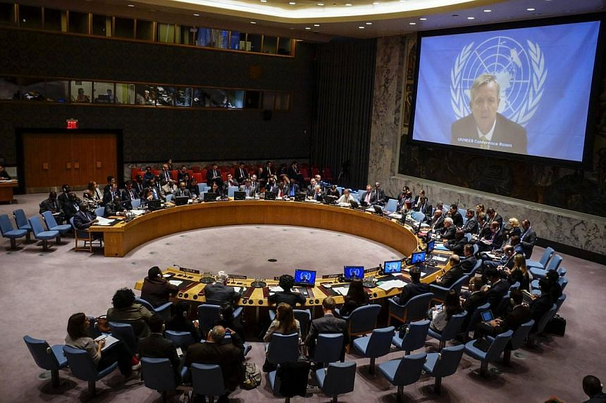 A UN Security Council meeting in October 2014. Pyongyang said it will not send a representative to a UN Security Council meeting next week to discuss North Korea's human rights record and calls to refer the country to the International Criminal Court