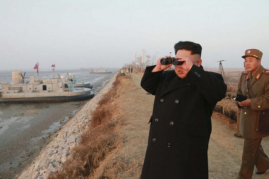 """North Korea vowed on Saturday to boost its """"nuclear power"""" to counter Washington's hostile policy, saying it had become apparent the United States aimed to invade the North under the guise of human rights abuses. -- PHOTO: REUTERS"""