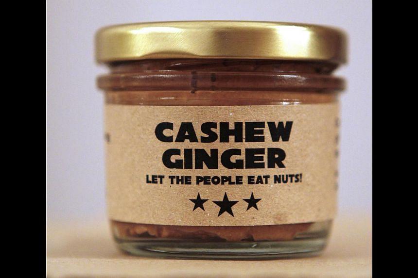 Cashew Ginger Nut Butter. -- PHOTO:NAIISE