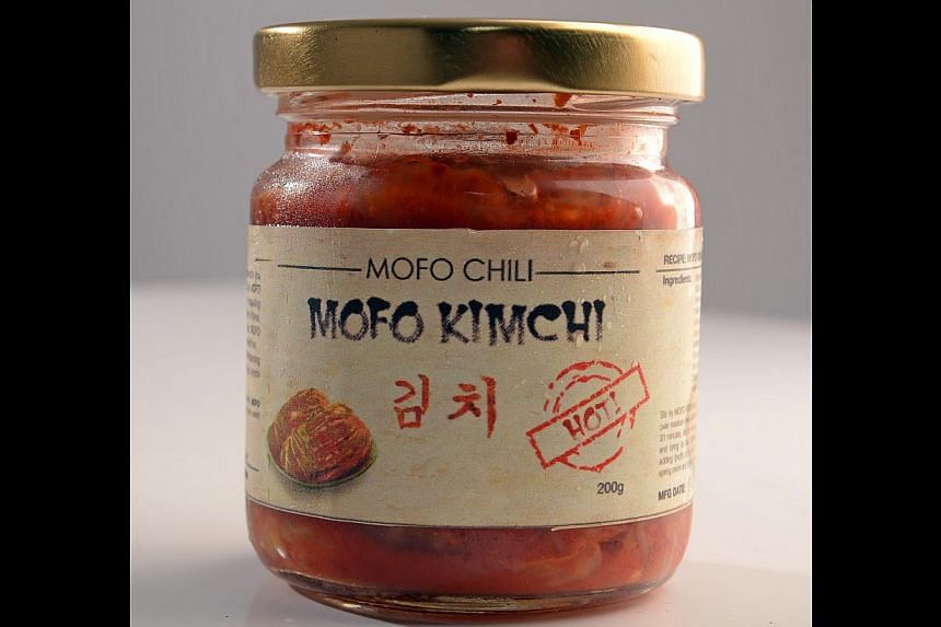 Mofo Kimchi by Mofo Chili. -- PHOTO: DESMOND WEE