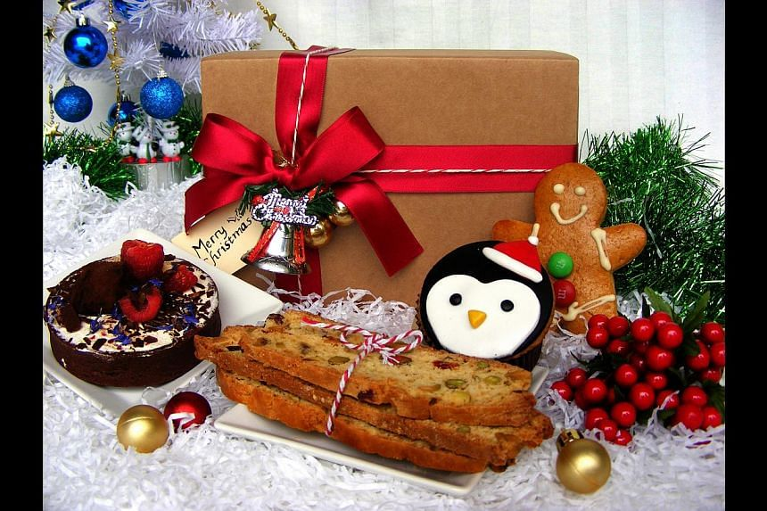 The Secret Santa Box. -- PHOTO: NOMNOM.SG