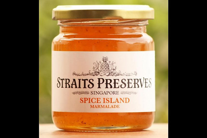 Spice Island Marmalade and Tropical Calamansi Marmalade. -- PHOTO: NAIISE