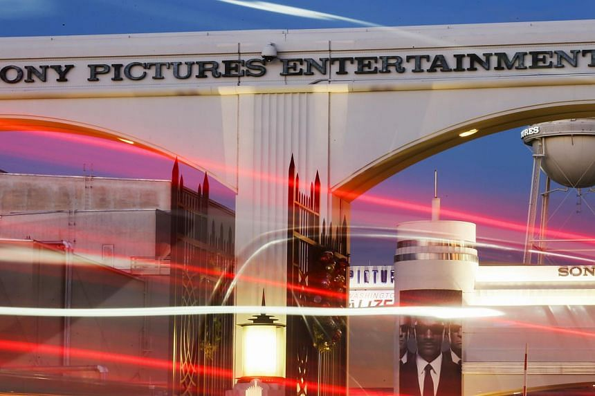 Sony Pictures Entertainment studios in Culver City, California. The United States has asked China to help block cyber attacks from North Korea as it weighs a response to the crippling hack of Sony Pictures, a US official said. -- PHOTO: AFP