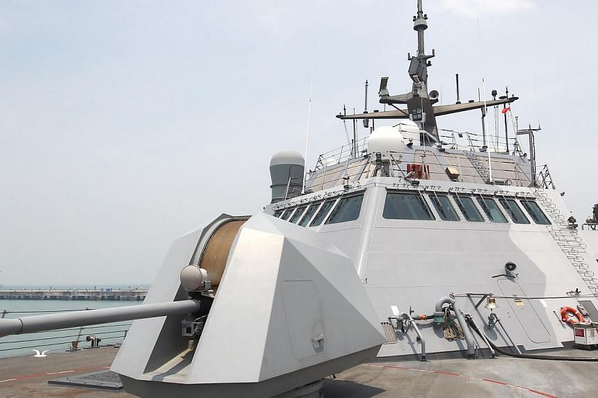 From an in-principle agreement announced at the Shangri-La Dialogue in 2011 to the inaugural deployment of the USS Freedom (above) last year, and now the Fort Worth, rotational deployments of LCSs to the US 7th Fleet have become tangible symbols of A