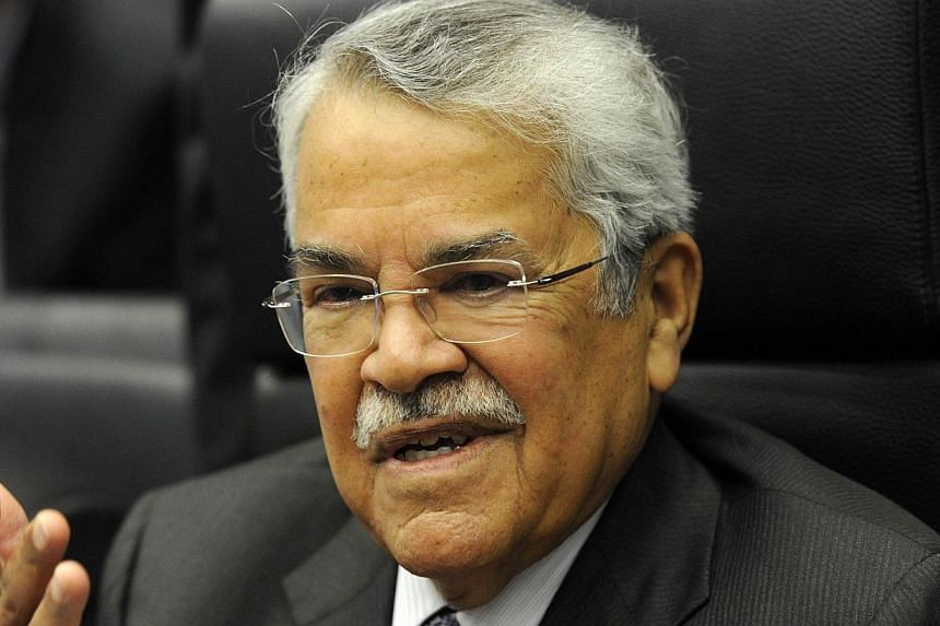 Saudi Oil Minister Ali al-Naimi attends a press conference ahead of the166th ordinary meeting of the Organization of the Petroleum Exporting Countries, OPEC, at their headquarters in Vienna, Austria on Nov 27, 2014.Saudi Arabia is prepared to i