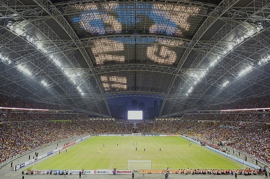 The Singapore Sports Hub has signed on Canon Singapore as its latest Founding Partner in a three-year deal announced on Monday. -- PHOTO: SINGAPORE SPORTS HUB