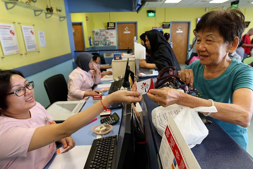 The Pioneer Generation Package gives generous medical subsidies to older Singaporeans.