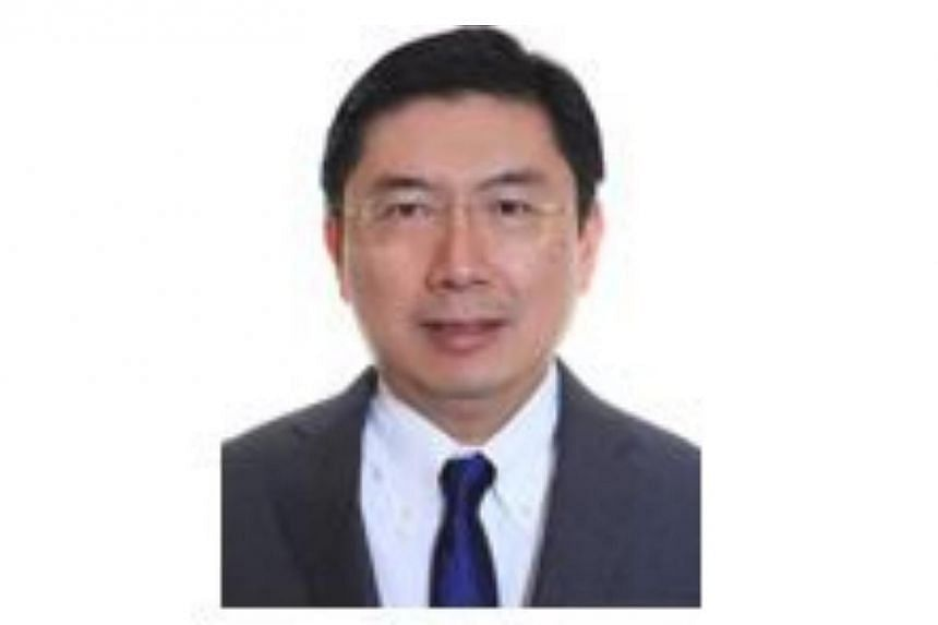 Dominic Goh will assume the role of Singapore's Ambassador to Laos on Jan 12, 2015.-- PHOTO: MINISTRY OF FOREIGN AFFIARS