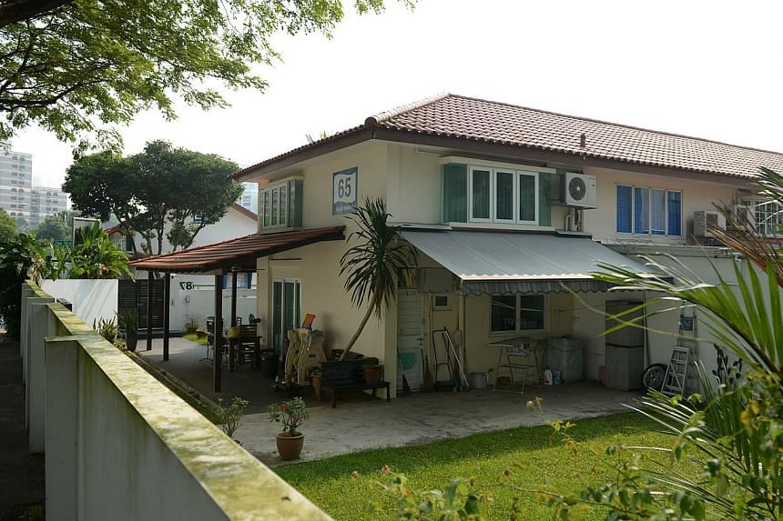 This HDB corner terrace located at Jalan Ma'mor fetched $1.02 million. -- PHOTO: ST FILE