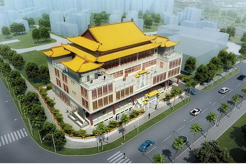 When completed in 2017, BW Monastery's four-storey complex in Woodlands Avenue 6 will have classrooms, a library, clinic and dormitories, as well as a restaurant, offices and a multi-purpose hall.