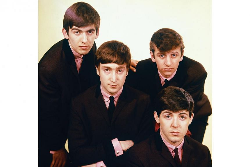 60s English rock band The Beatles. -- PHOTO: UNIVERSAL MUSIC
