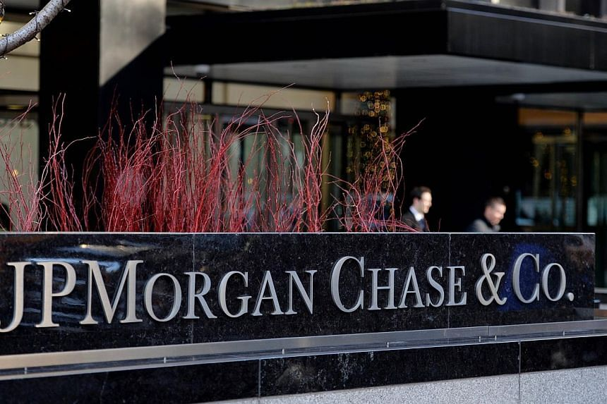 Regulators reprimanded the Singapore branch of JP Morgan Chase Bank on Wednesday, for contravening the Financial Advisers Act (FAA) and the Securities and Futures Act (SFA). -- PHOTO: AFP