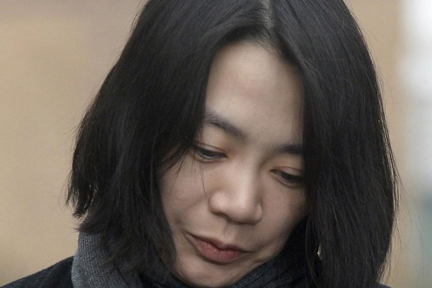 Cho Hyun-ah, also known as Heather Cho, daughter of chairman of Korean Air Lines. South Korean prosecutors requested on Wednesday a detention warrant for the former executive who delayed a flight because she was unhappy about how she was served nuts
