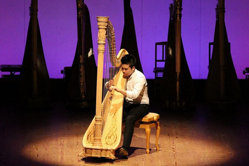 Nippon International Harp Competition 2014 winner, Lee Yun Chai, started playing the harp when he was five.