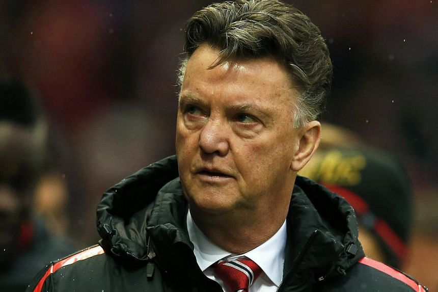 Louis van Gaal (above) has revealed he feels under pressure to succeed at Manchester United to repay the generous support of Old Trafford legend Alex Ferguson. -- PHOTO: REUTERS