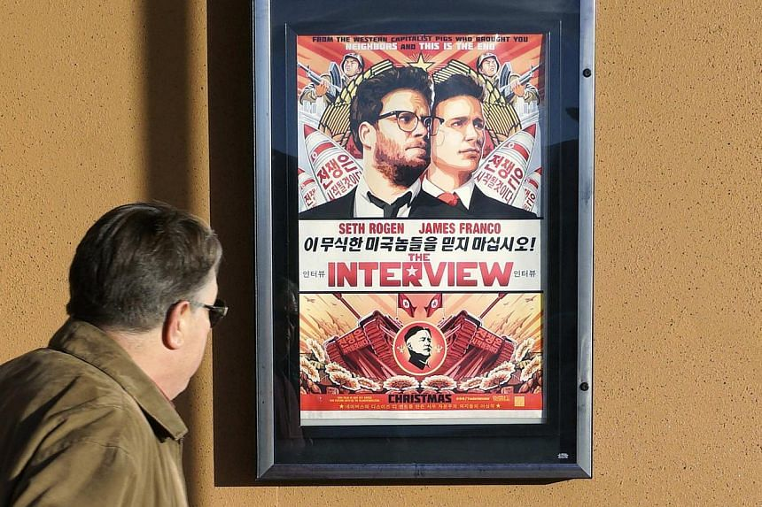 Sony Pictures decided to do a limited release of The Interview with independent exhibitors on Christmas Day.  -- PHOTO: REUTERS