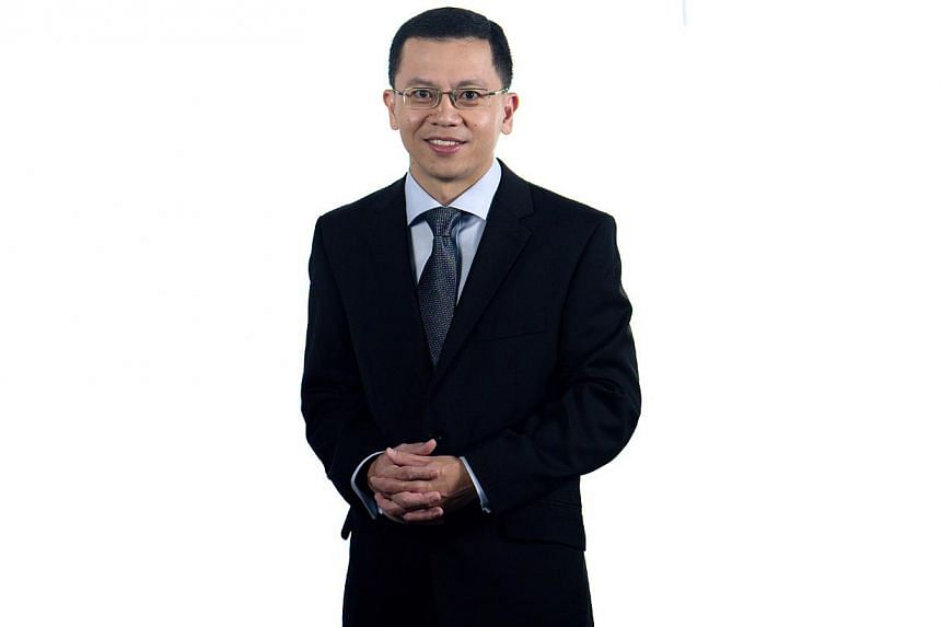 Permanent Secretary for the Ministry of Communications and Information, Mr Aubeck Kam (pictured), will be the new chairman of CCS, replacing Mr Lam Chuan Long.-- PHOTO:MINISTRY OF TRADE AND INDUSTRY