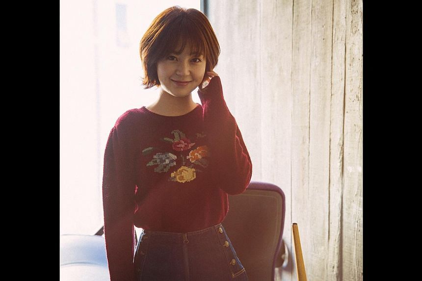 Baek Jin Hee (above), on her leading men. -- PHOTO: OH!K