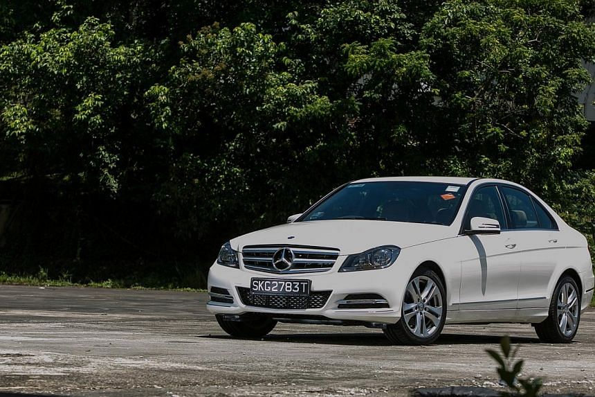 In an online poll for the ST Car of the Year, most readers thought the Mercedes-Benz C-class should win. -- PHOTO:MERCEDES BENZ