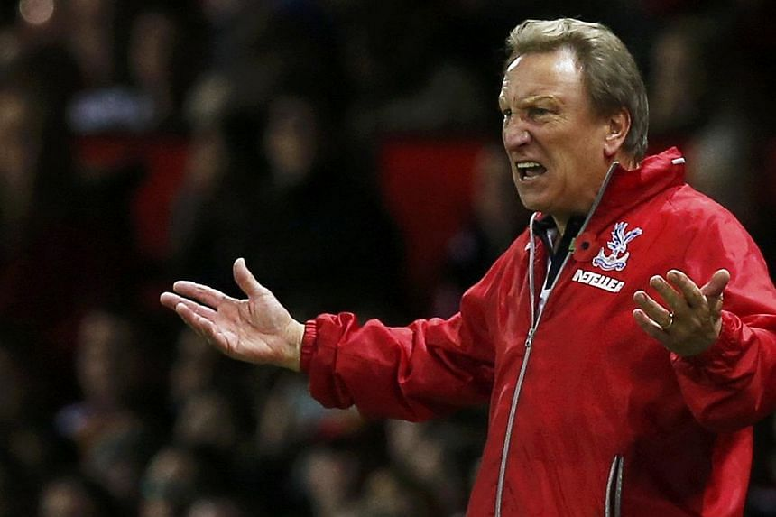 Premier League strugglers Crystal Palace sacked manager Neil Warnock on Saturday, the BBC reported. -- PHOTO: REUTERS