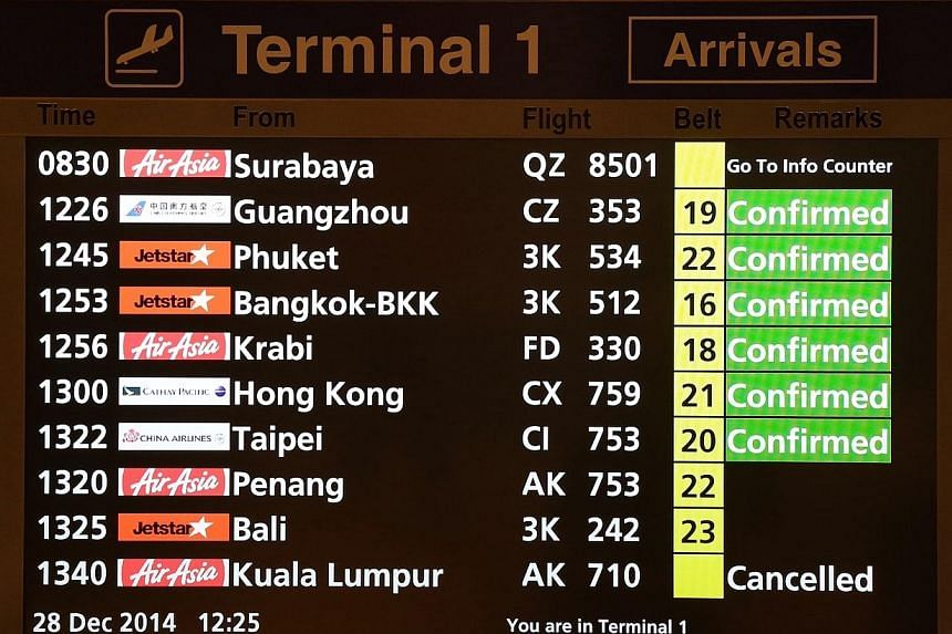 Pilots familiar with the two-hour flight from Surabaya to Singapore say the route is not a particularly challenging one. -- ST PHOTO: NEO XIAOBIN