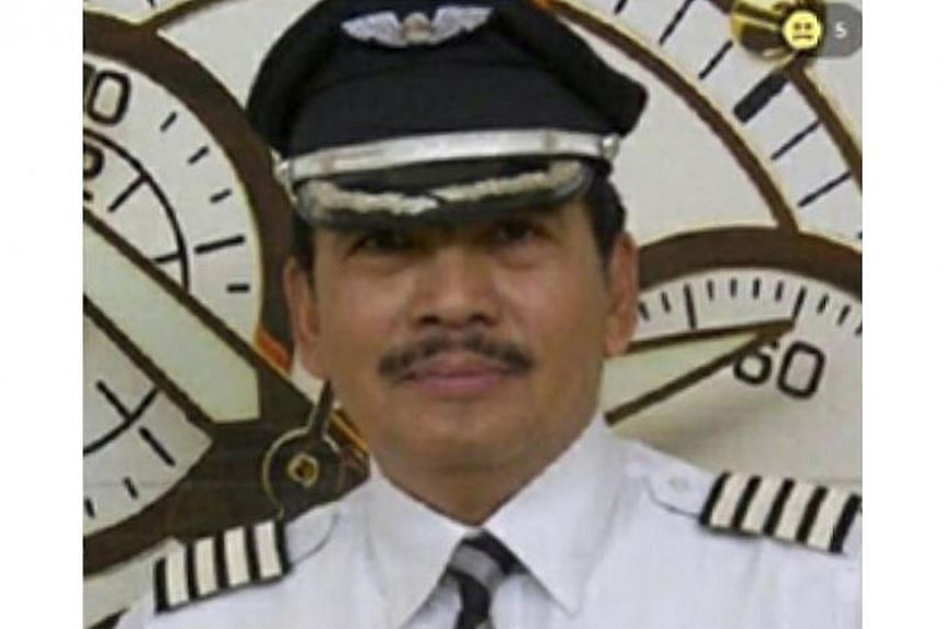 The pilot of missing Indonesia AirAsia flight QZ8501, Captain Iriyanto, is a very caring man who has never failed to help those in need, his nephew told local news media. -- PHOTO: HTTP://NEWS.LIPUTAN6.COM/