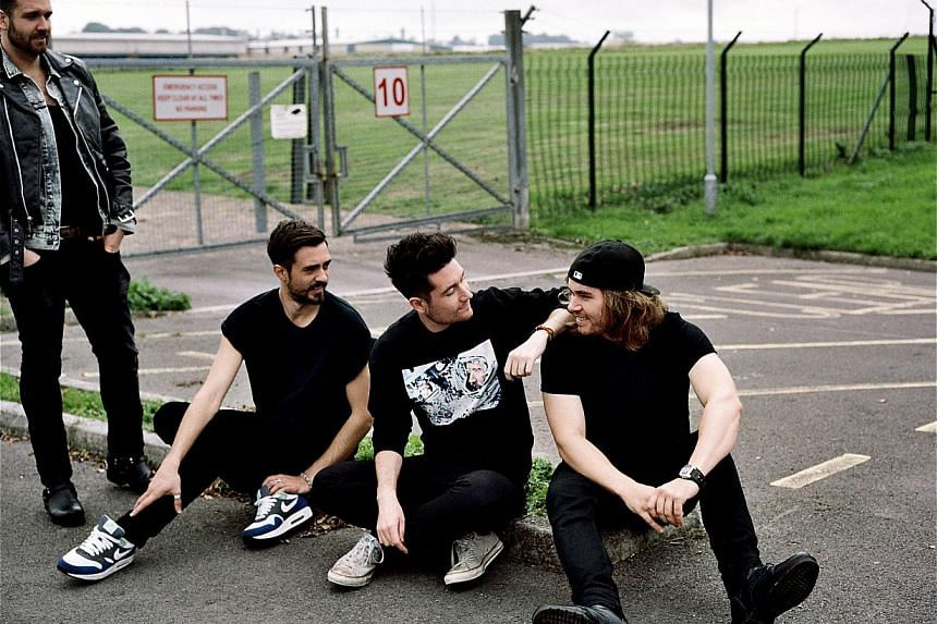 Bastille members are (from far left) William Farquarson, Kyle Simmons, Dan Smith and Chris Wood. -- PHOTO: UNIVERSAL MUSIC
