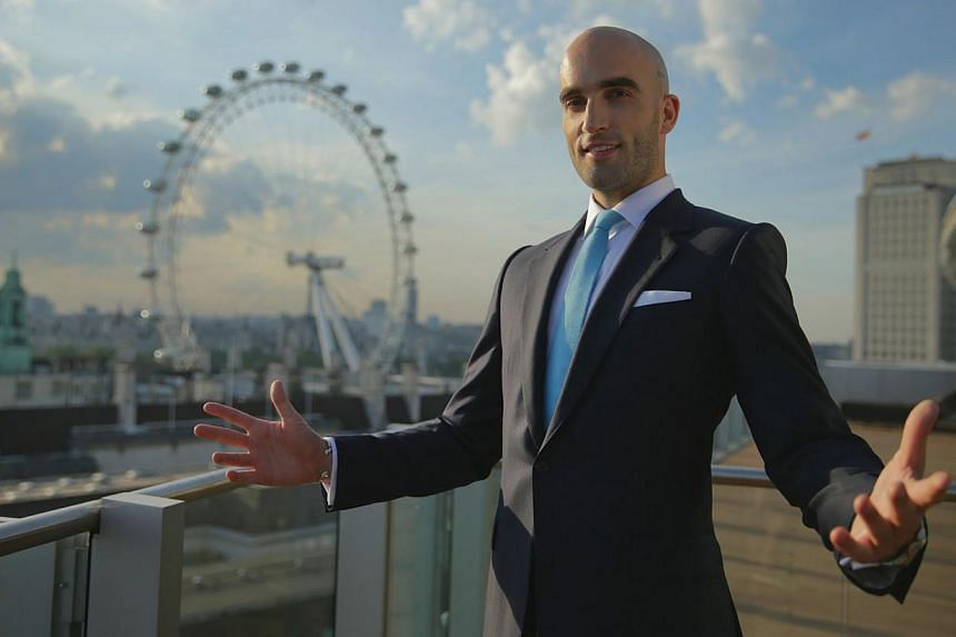 British cardtrick specialist Drummond Money-Coutts hopes to inspire young boys to be magicians. -- PHOTO: NATIONAL GEOGRAPHIC