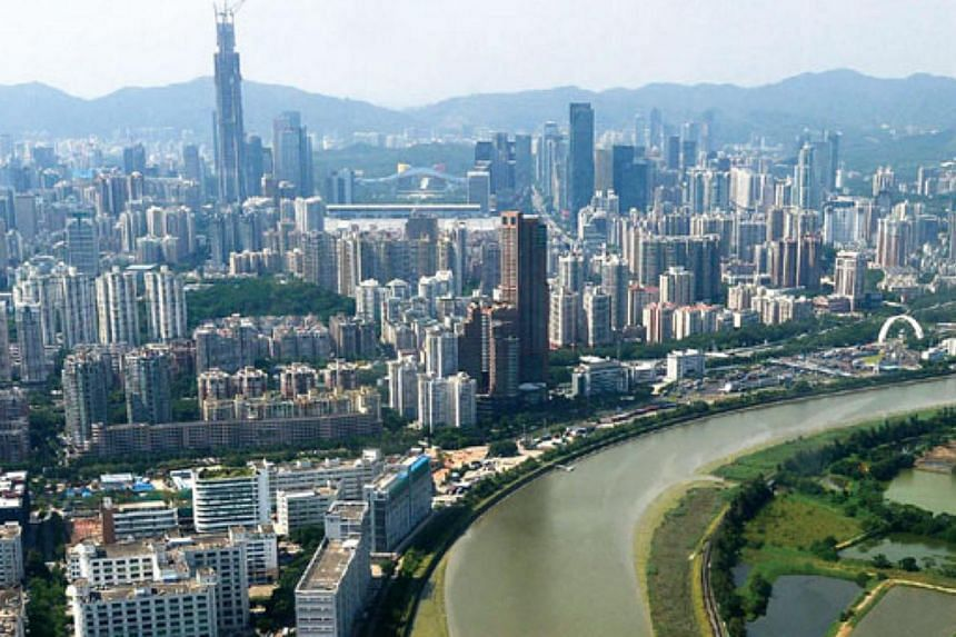 The city of Shenzhen, in southern China,said on Monday, Dec 29, 2014, that it would restrict sales of new cars, joining major cities including Shanghai and Beijing in an escalating war against smog and snarling traffic. -- PHOTO: CHINA DAILY/AS