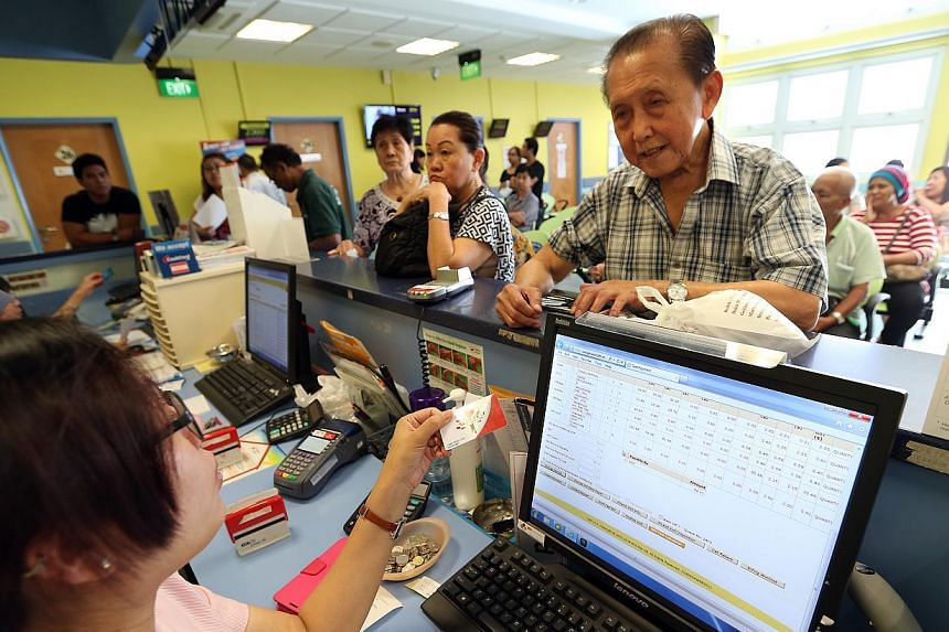 From Thursday, Jan 1, higher medication subsidies will be rolled out for all subsidised patients at polyclinics and specialist outpatient clinics. -- PHOTO: ST FILE