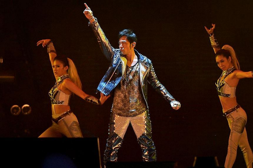 The sound quality of Taiwanese singer Jay Chou's gig at the National Stadium last Saturday led unhappy fans to vent their anger on social media. -- ST PHOTO: KUA CHEE SIONG