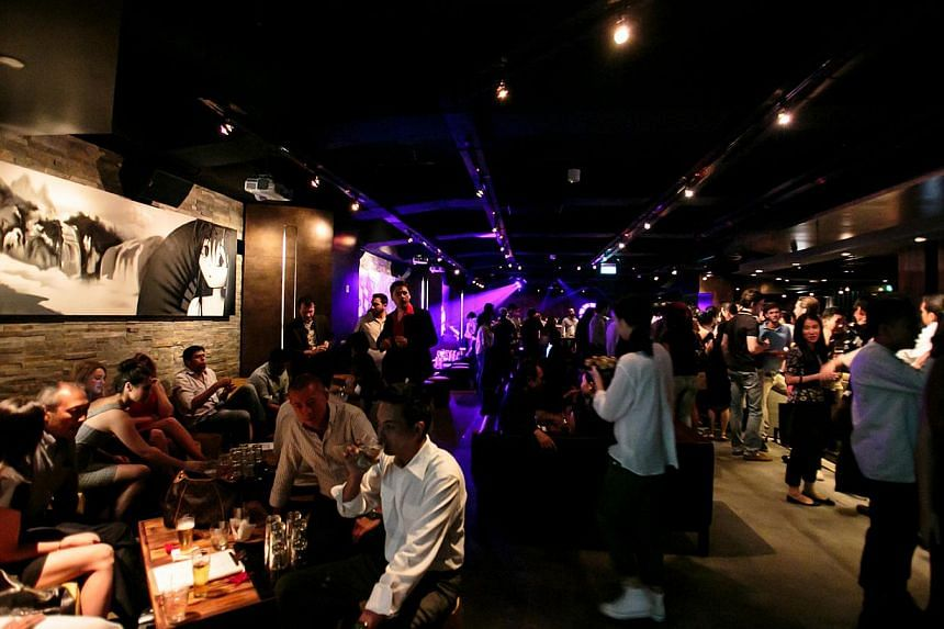 Kyo, a basement nightclub in the Central Business District, has grown to be a go-to party destination for clubbers into underground dance music genres and RnB and hip-hop. -- PHOTO: KYO