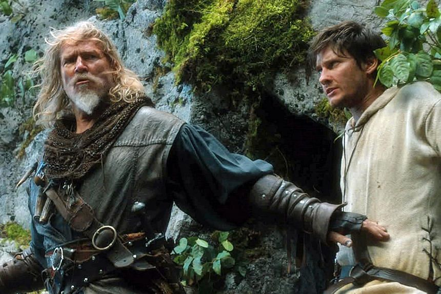 Jeff Bridges and Ben Barnes (both left) play evil-busting warriors in Seventh Son.